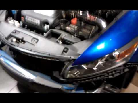 Honda Accord V6 3.5l Injen Intake - YouTube