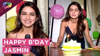 Gambar cover Jasmin Bhasin Celebrates Her Birthday With India Forums | Exclusive Interview