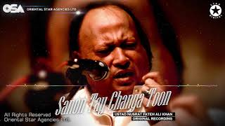 Sanon Tay Changa Toon | Nusrat Fateh Ali Khan | official HD video | OSA Worldwide