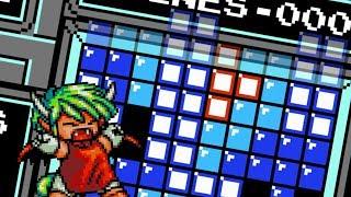 [NES Tetris TAS] T-Spin Triple but in 1989