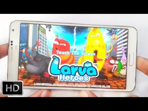 Larva Heroes: Lavengers 2014 Gameplay Android & iOS HD - 동영상