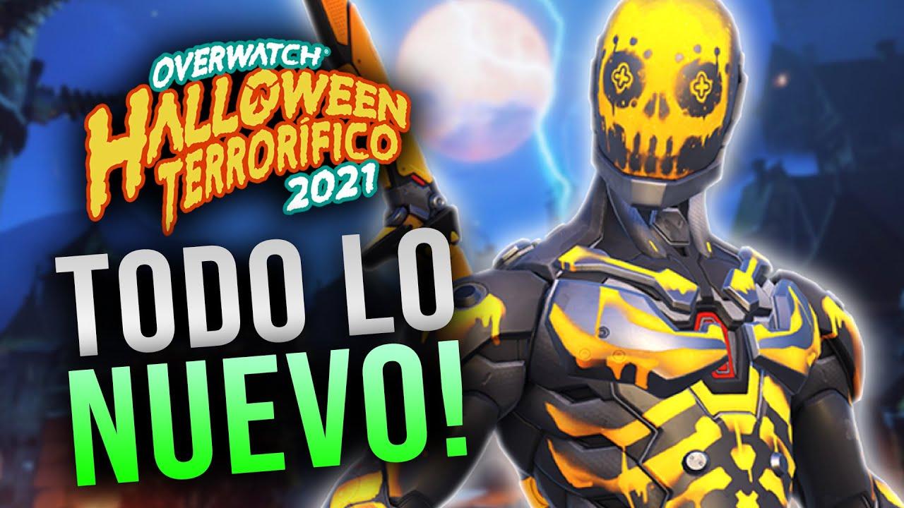 Download EVENTO HALLOWEEN 2021: REACCIONANDO A TODO LO NUEVO!! BEST GENJI SKIN?   Toniki Overwatch