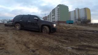 Chevy Tahoe Offroad test