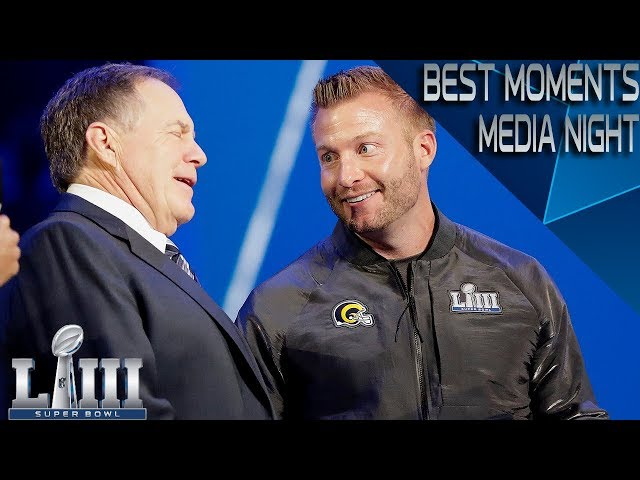 Best Moments From Super Bowl LIII Media Night | NFL