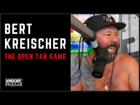 The Woody Show - Bert Kreischer Plays the Open Tab Game