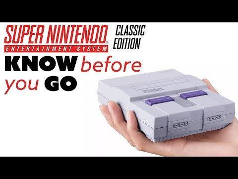 Know Before You Go... SNES Classic - The Know Game News