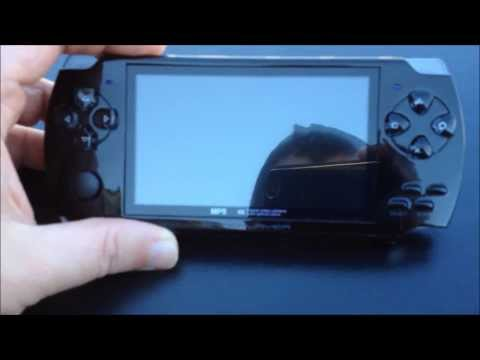 """""""Mp5"""" media and game player, PSP lookalike handheld console"""