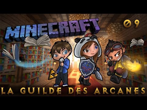 [Minecraft] La Guilde des Arcanes - Episode 9 - Blood is good on nether! By SianaPanda