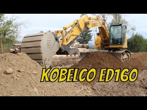 Kobelco ED160 Blade Runner Demo And Review