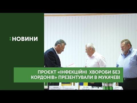 Проєкт «Інфекційні хвороби без кордонів» презентували в Мукачеві