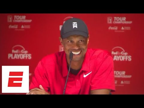 Tiger Woods Tour Championship press conference after first victory since 2013  | ESPN