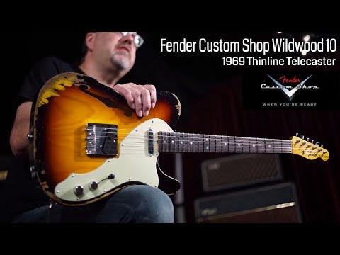 Fender Custom Shop Wildwood 10 1969 Thinline Telecaster  •  Wildwood Guitars