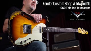 Baixar Fender Custom Shop Wildwood 10 1969 Thinline Telecaster  •  Wildwood Guitars
