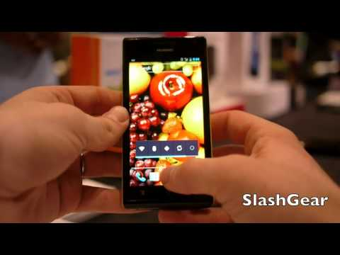 Huawei Ascend P1 S and P1 hands-on