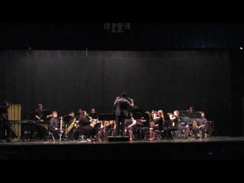 Hunter Huss High School band 2017 Seniors send off number.