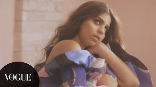August 2018: Suhana Khan's Very First Vogue India Cover Shoot