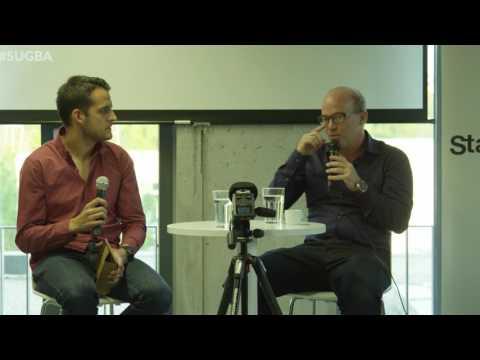 Oliver Holle (Speedinvest) at Startup Grind Bratislava