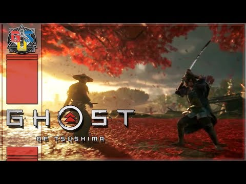 GHOST OF TSUSHIMA GAMEPLAY REACTION E3 2018 FOOTAGE