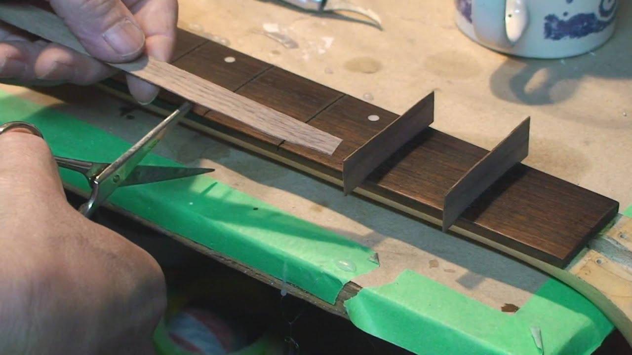 washburn 5 string bass fretless conversion gets veneer youtube. Black Bedroom Furniture Sets. Home Design Ideas