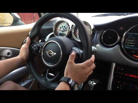 Mini cooper r50 with f56 steering