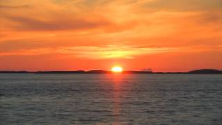 The sun that never sets - timelapse of sunset in norway july 2009 HD