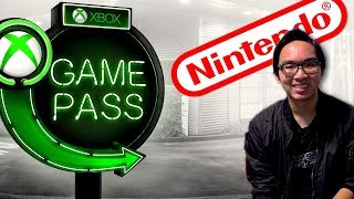 Nintendo Fanboy Tries Xbox Game Pass! - REVIEW