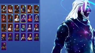 Galaxy Skin Fortnite battle royal