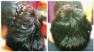 New Mod Reception/Party/Occasion Hairstyle for Girls/Ladies/Women in Saree/Lehenga-Bangla Video