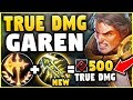 NEW INFINITY EDGE + NEW GAREN BUFFS = ONE SHOT ASSASSIN! (TRIPLE TRUE DAMAGE!) - League of Legends