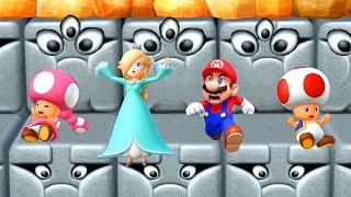 Mario Party 10 Minigames - Mario vs Toad vs Toadette vs Rosalina