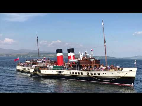 Paddle Steamer Waverley's 1st Cruise of 2018