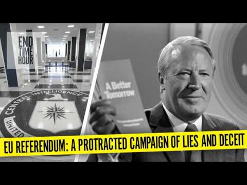 EU Referendum: A Protracted Campaign of Lies and Deceit