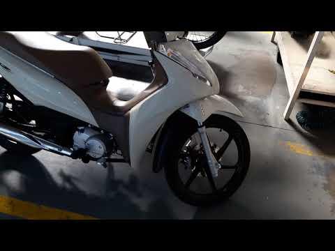 Nova Honda Biz 2018 Branca!!!