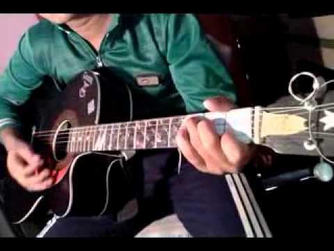 Bekheyali Mone Guitar Cover