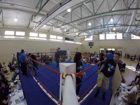 Edgar Diaz (Berkeley Muay Thai) vs Alex Torres (Deleotega)
