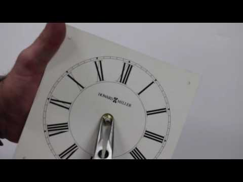 Howard Miller How to replace a Battery-operated Movement