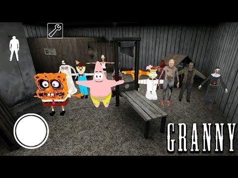 НОВЫЕ ПЕРСОНАЖИ в ДОМЕ ГРЕННИ HORROR PARTY Обновление - Granny 2 Chapter Two Новая Часть