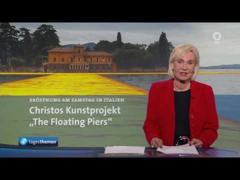 Nachrichten-Revival für Dagmar Berghoff | Tagesthemen - 16.6.2016