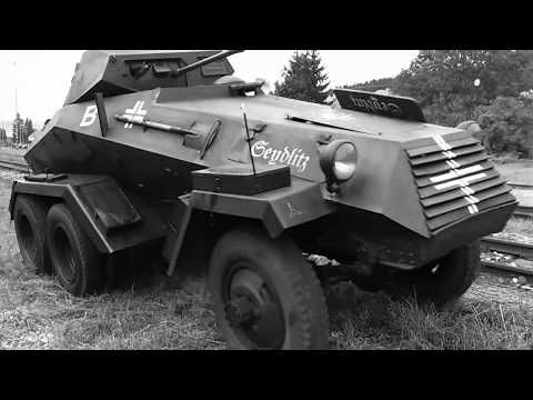 sd kfz 223 in action