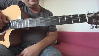 Don't worry be happy - Bobby Mc Ferrin acoustic guitar tutorial