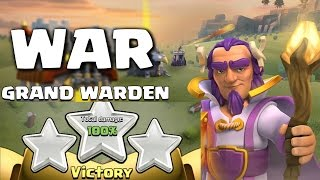 Clash of Clans - Crazy Grand Warden 3 Star War Attempt vs Max TH10