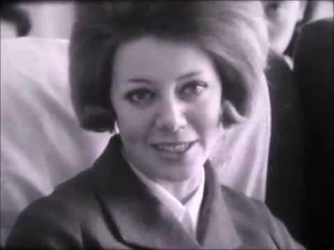 266 For Istanbul - British Airways Cabin Crew Recruitment Film from the 1960s.