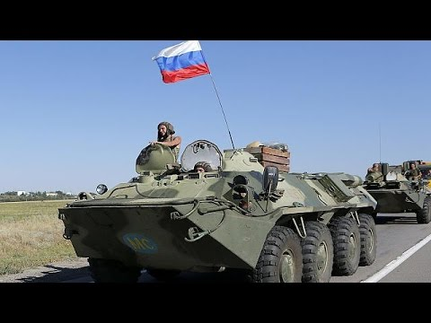 Kelet-Ukrajna: Kijev és a NATO szerint orosz katonai járművek lépték át a határt