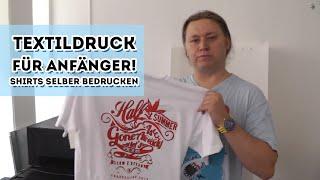 T-Shirts bedrucken - Textildruck für Anfänger