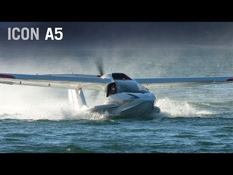 Flying the Icon A5 Amphibious Light Sport Aircraft – AINtv