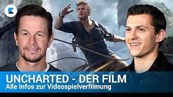 Uncharted-Film - Alle Infos zur Videospielverfilmung