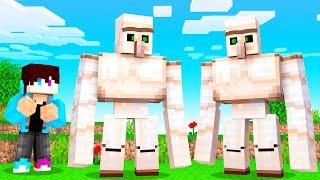 Wat Gebeurt Er Als Je 2 IRON GOLEMS SAMENVOEGT? (Minecraft)