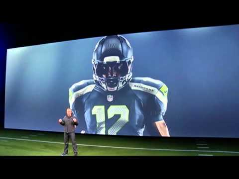 80405d8d4 NFL Unveils New Nike Uniforms - YouTube