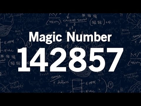 Magic Number 142857