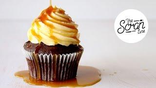 Vegan Salted Caramel Cupcakes - The Scran Line